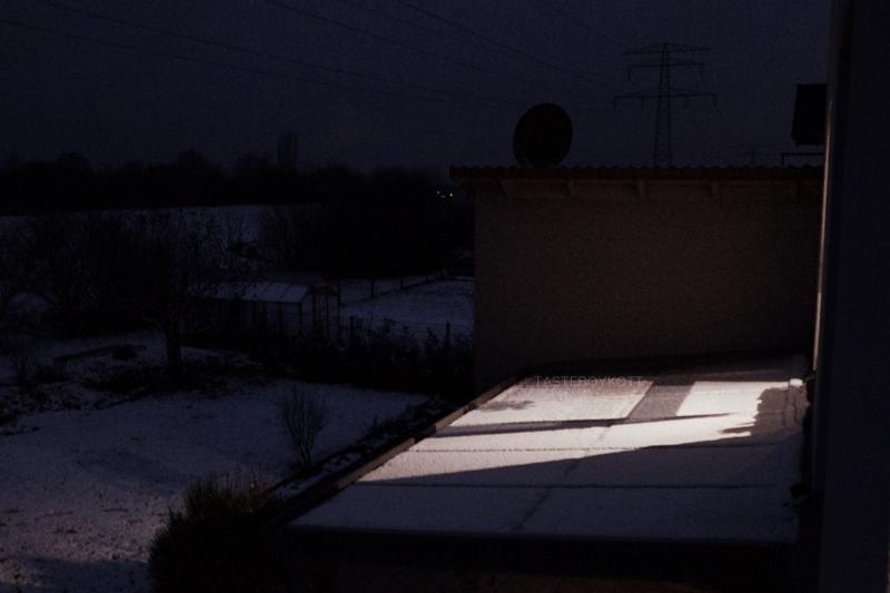 Outtakes Monatsrückblick Dezember Ausblick Winter Nacht Licht