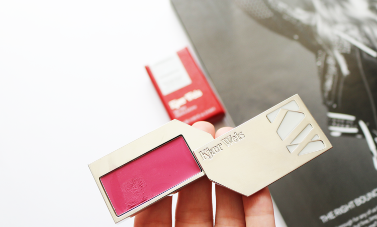 Kjaer Weis Lip Tint in Rapture - Review & Swatches
