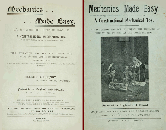 Mechanics Made Easy manuals 1904 - 1906