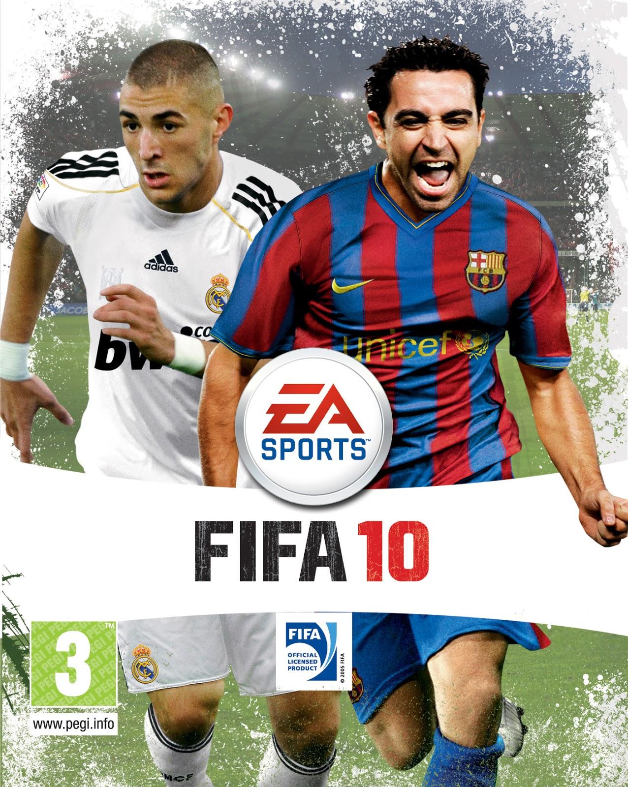 تحميل لعبه فيفا 2010 fifa 2010 مضغوطة بحجم صغير جدا من ميديا فاير
