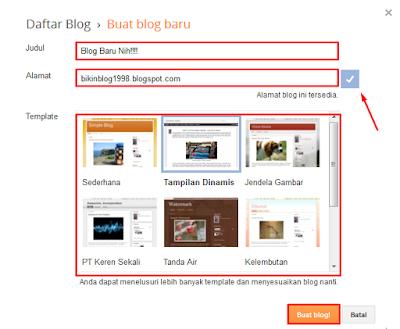 MaulNotes.blogspot.com-Cara Cepat Membuat Blogspot Dalam 5 Menit!!