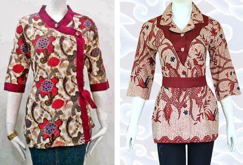 10 Model Baju Batik Guru 2020 Modis Terbaru