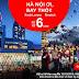 KM Air Asia: Chỉ từ 6 USD, bay Hà Nội - Bangkok/ Kuala Lumpur thú vị