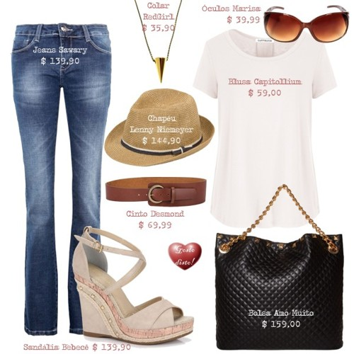 Gosto Disto!  Copie o look - Get the look (Jennifer Aniston) 906f75f6a5