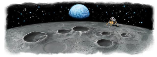日替わりで変わるGoogle検索のロゴ「Doodle(ドゥードル)」とは?月面着陸40周年を記念したロゴ