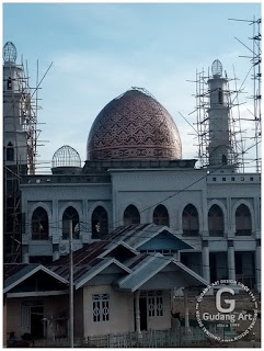 kerajinan kubah masjid