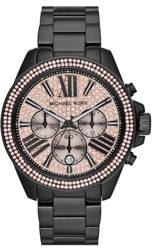 Michael Kors 'Wren' Pavé Dial Chronograph Bracelet Watch, 42mm