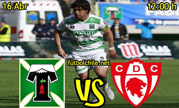 Deportes Temuco vs Deportes Copiapó