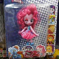 Fake MLP Equestria Girls Minis Pinkie Pie Figure