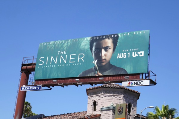 The Sinner season 2 billboard