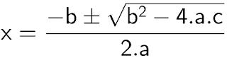 Fórmula de Bháskara em Python