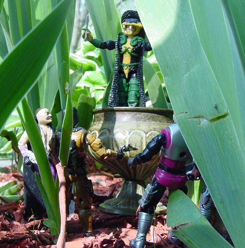 2002 Serpentor, ARAHC, Internet Exclusive, Abutre Negro, Estrela, Brazil, 1986 Dr. Mindbender, Chinese MAjor Bludd, Metal Head