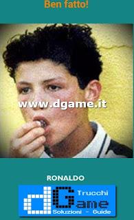 Soluzioni Guess the child footballer livello 24