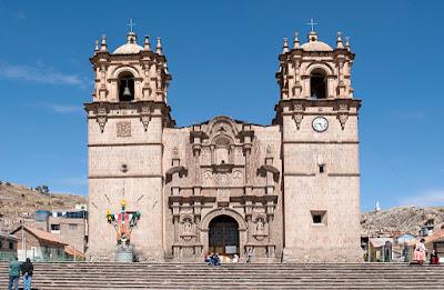 Catedral de Puno, Puno y alrededores, Visitar Puno Peru