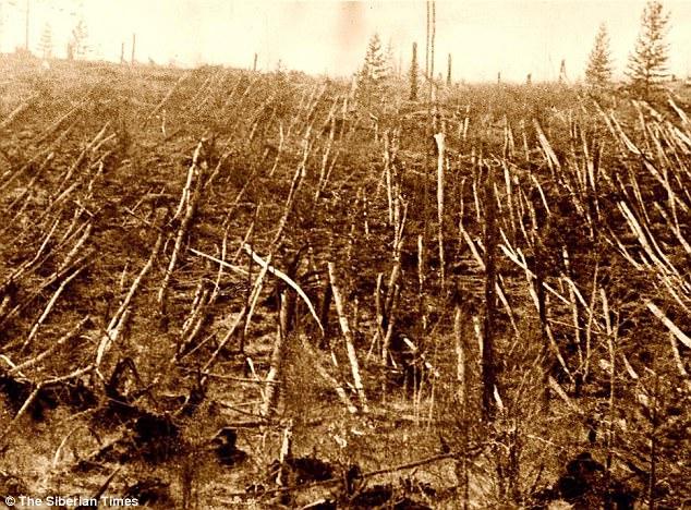 Tunguska Olayı 80 milyon ağacı yok etti