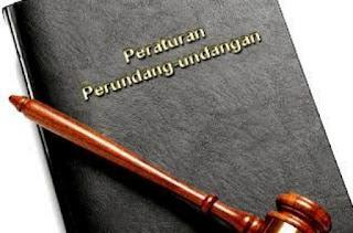 data peraturan perundang-undangan