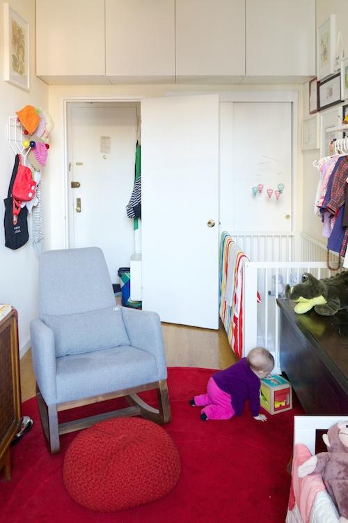 dormitotorio infantil con muebles altos