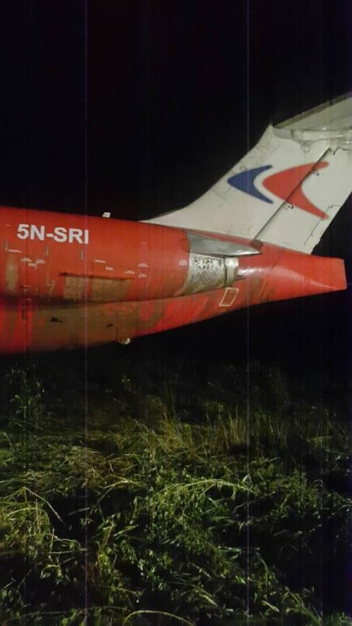 Crashed Dana Airplane