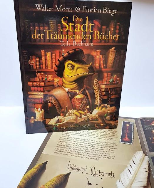 Die Stadt der Träumenden Bücher (Comic) Band 1: Buchhaim - Walter Moers & Florian Biege