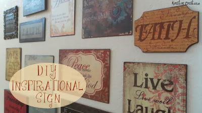 diy inspirational signs