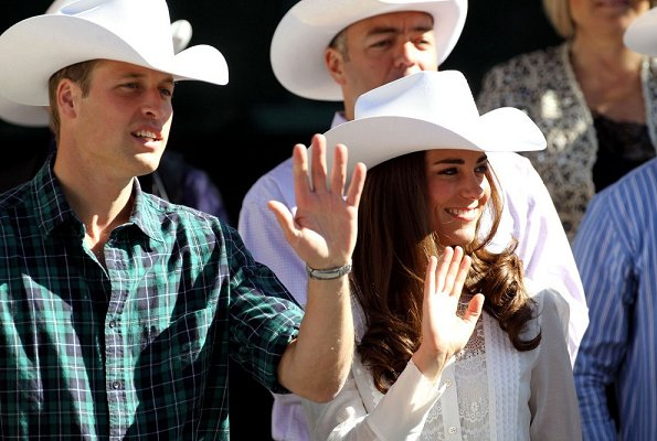 Prince William and Kate Middleton visit British Columbia and Yukon Territory, Canada. Prince George, Princess Charlotte