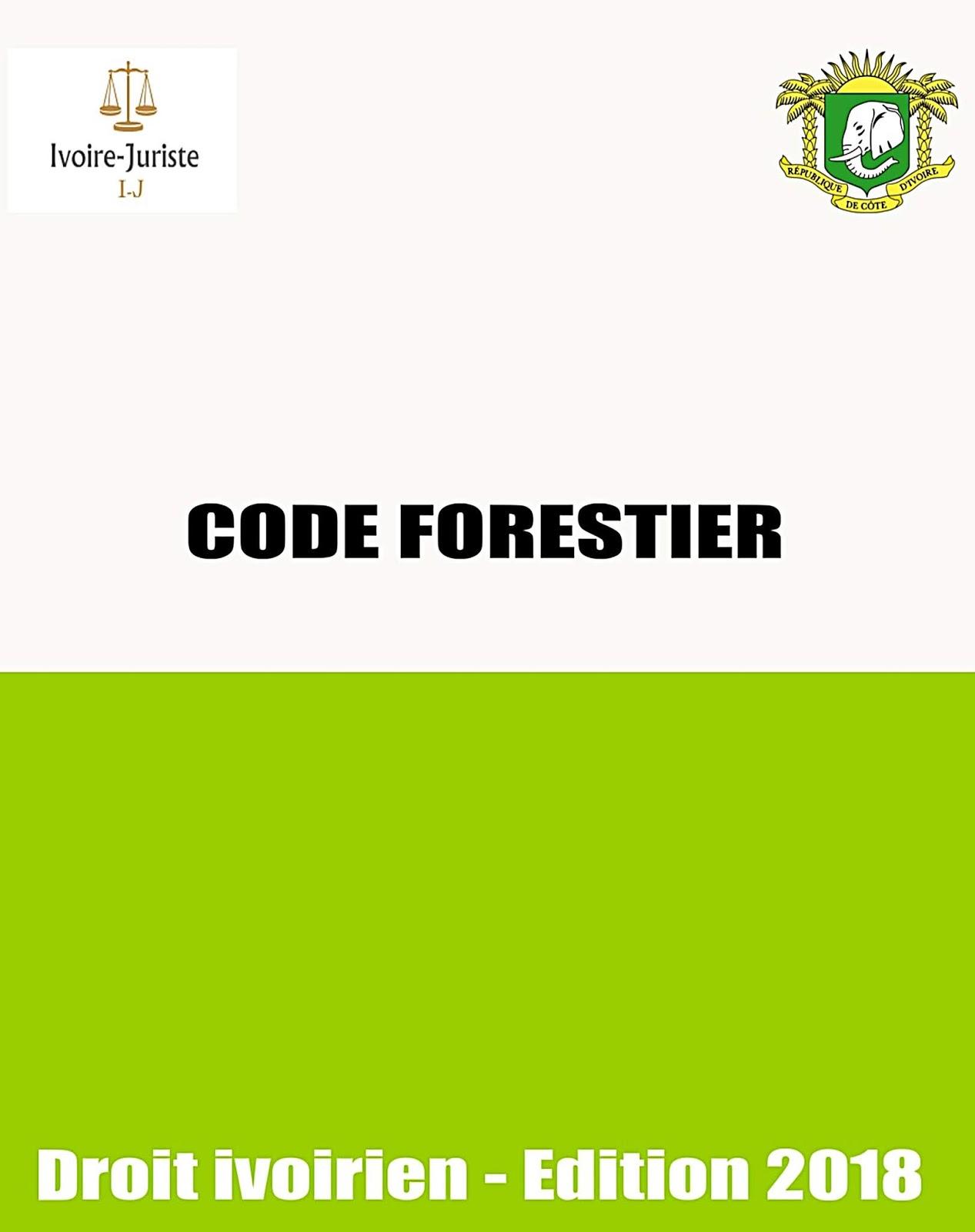 Télécharger gratuitement le Code forestier ivoirien pdf (===