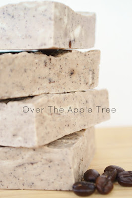 Coffee and Orange Melt and Pour Soap by Over The Apple Tree