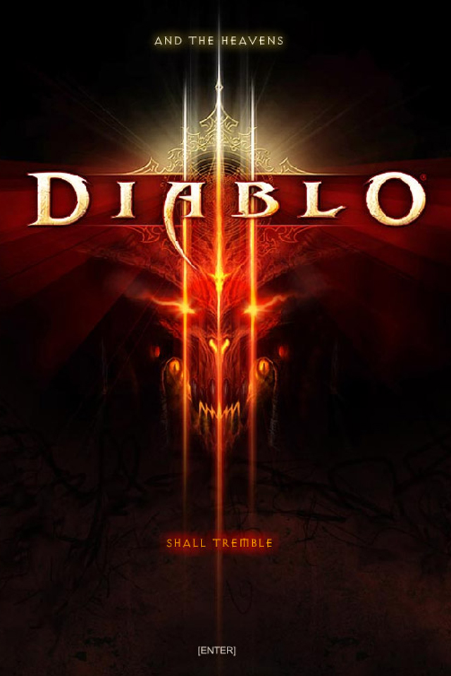 Diablo 3 IPhone Wallpaper - iPhones & iPod Touch Backgrounds - Free iPhone Wallpapers 2013