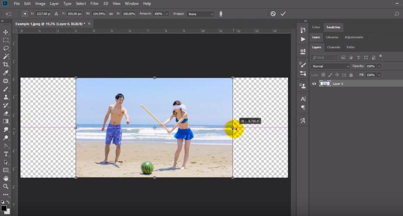 Cara Mengubah Foto Portrait Menjadi Landscape di Photoshop ...
