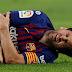 Lionel Messi se fracturó el brazo derecho y se perderá el clásico contra Real Madrid