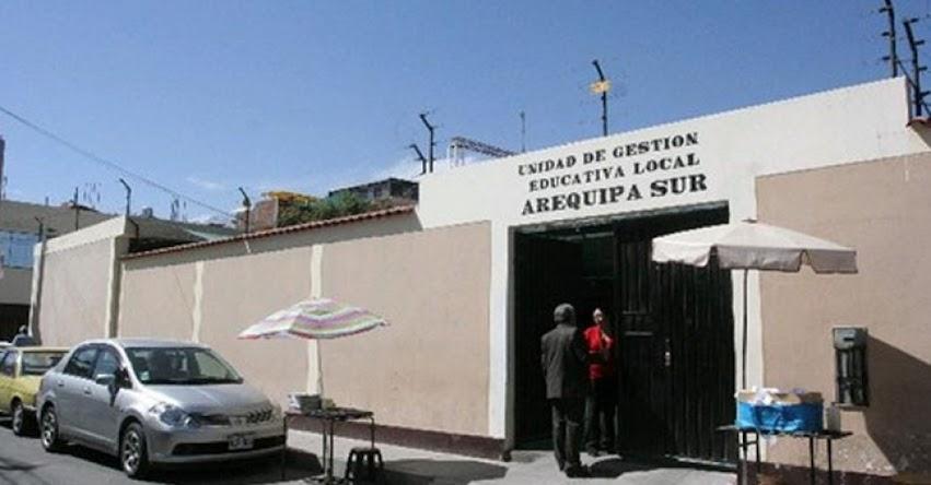 UGEL Arequipa Sur convoca a reunión a todos los directores de colegios estatales (Miércoles 27)