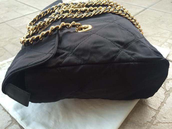 950dbd81c9cb Truly Vintage  Authentic Prada Tessuto Nylon Golden Chain Bag