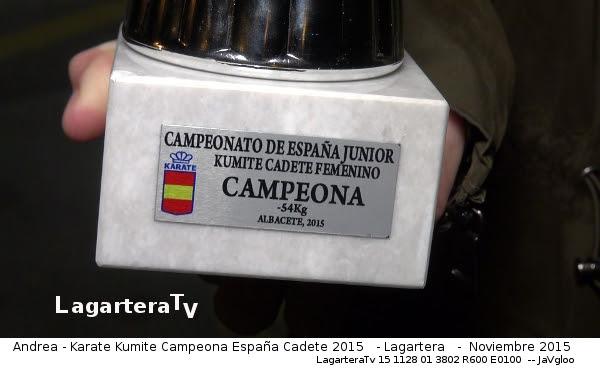 Detalle Copa Campeonato España Karate - LagarteraTv