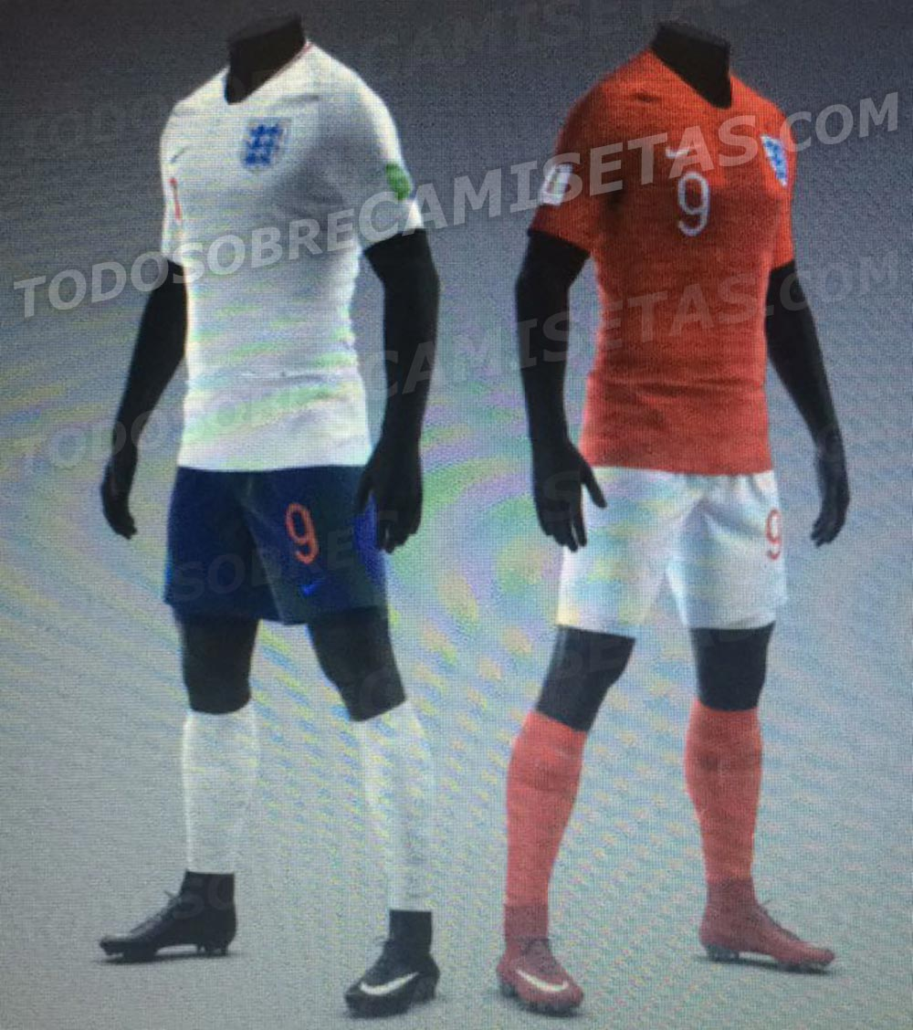 a22aa5f6c ... new Nike 2018 World Cup home and away jerseys have been already leaked  in early 2018 by Todo Sobre Camisetas. Two of them (England   France) were  ...