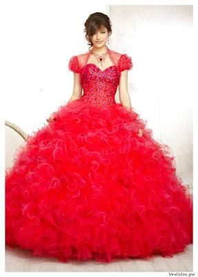 Vestidos de XV Años Rojos