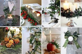 150+ Χριστουγεννιάτικες ιδέες με φυσικά υλικά