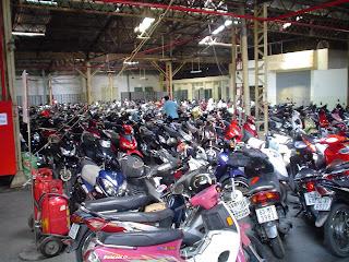 Parking de motos - Vietnam