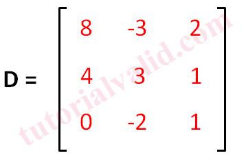 Matriks D 3x3