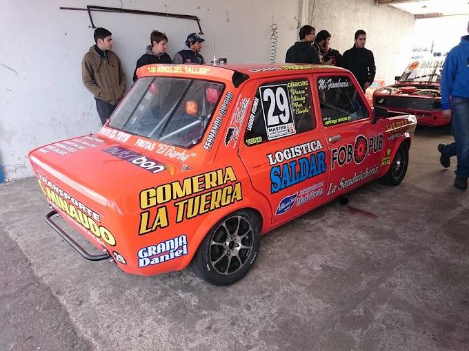 SANTIAGO LANTELLA CORRE ESTE FIN DE SEMANA EN LA CLASE 2 CON UN FIAT 128