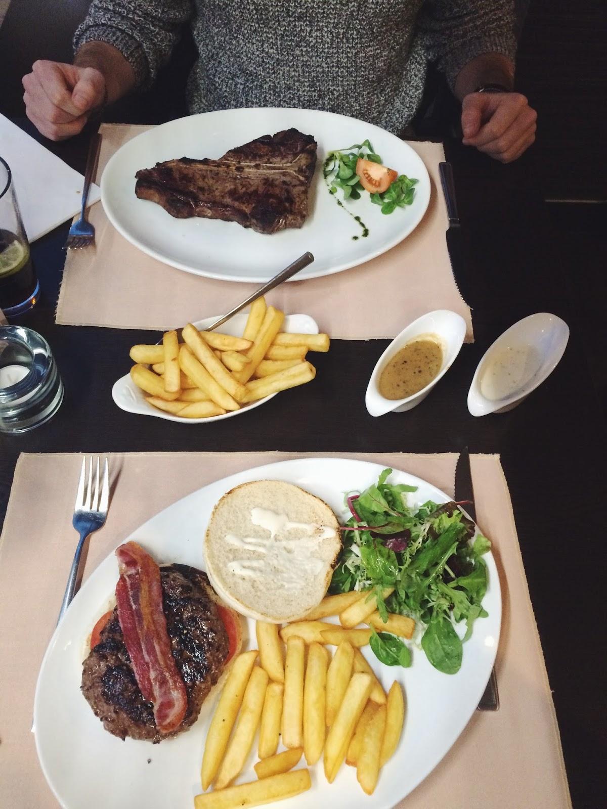 Porterhouse Steakhouse Winchester review, UK food bloggers, UK food blog, Dalry Rose Blog