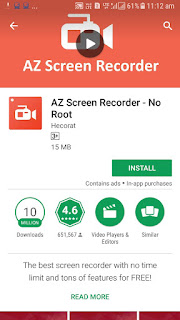 ANDROID MOBILE SCREEN RECORDER