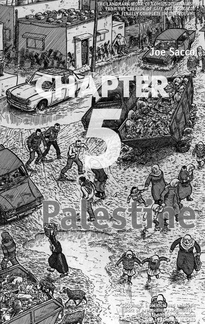 Read chapter 5 of Joe Sacco - Palestine online
