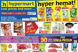 Katalog Promo Hypermart Weekend Terbaru 22 - 24 Maret 2019