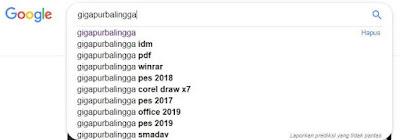 Pengertian Dan Cara Menggunakan LSI Keyword Di Blogger - Hasil Pencarian Search Google melalui LSI Keyword