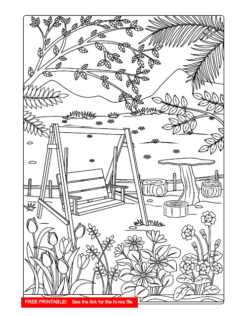 free coloring page, colouring for adults, free printable, download free
