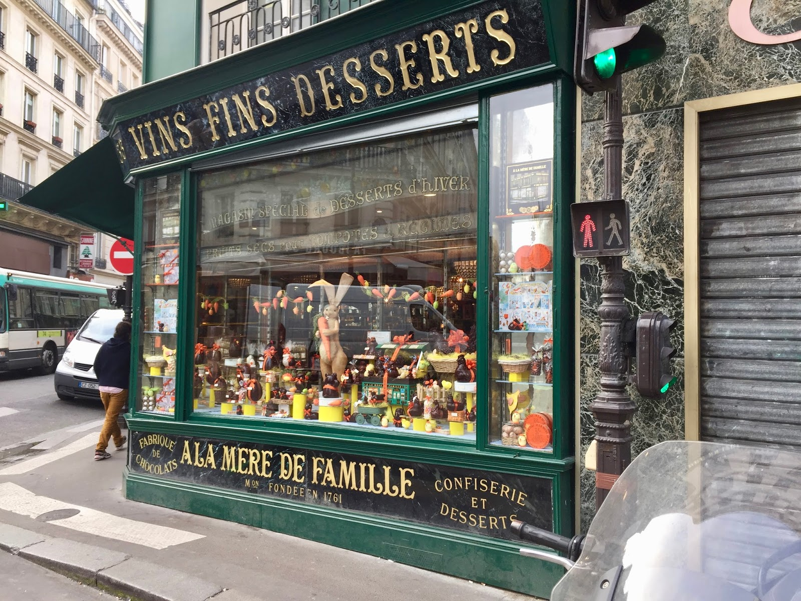 Parisian Chocolate Shop
