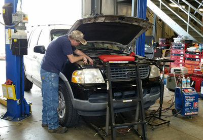Auto Repair - Source: Town of Hillsborough, NC - https://www.hillsboroughnc.gov/government/departments-and-divisions/fleet-maintenance/