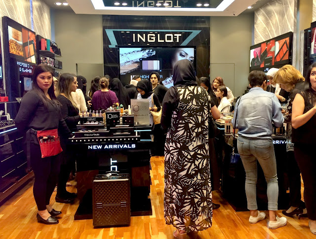 Inglot, Avenues Mall, Kuwait
