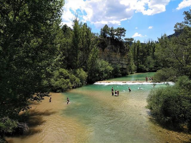 Puente de San Pedro: confluencia del río Tajo con el río Gallo