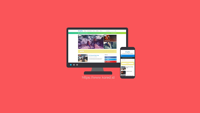 New Simplify 2 Responsive - Blogger Template 2019